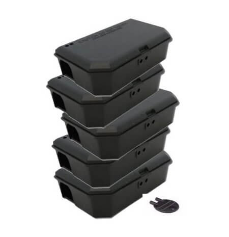 Plastic Mouse Boxes - Owl pest control Dublin