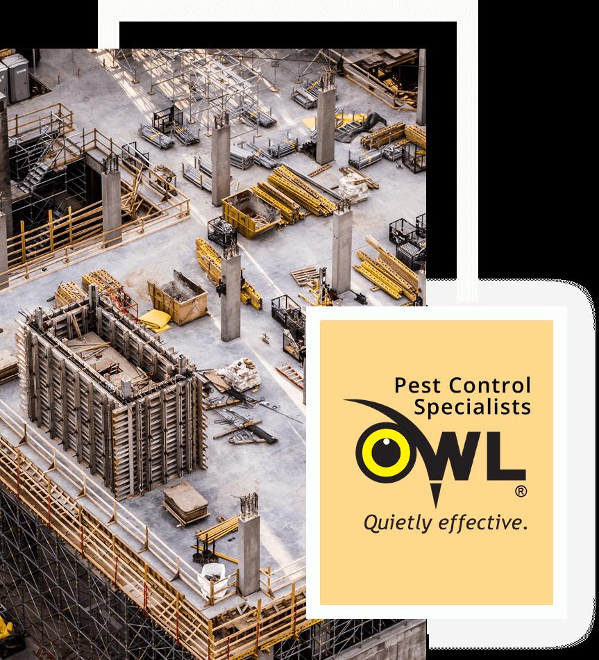 construction-Owl Pest control Dublin