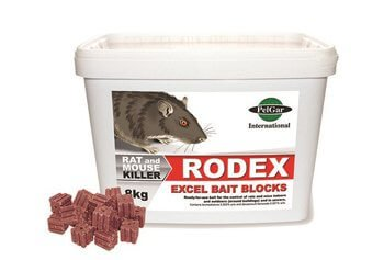 rodex-excel-block-bait-rat-mice-poison-bait - Owl pest control Dublin