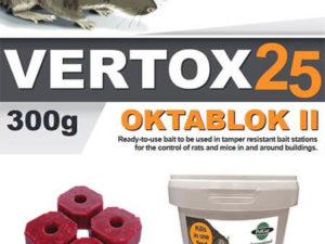 Rodenticides and Poison Vertox 25. Oktablok II - Owl pest control Dublin