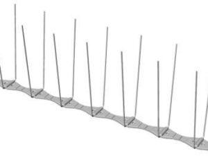 Narrow Pigeon spikes p14 Diagram - Owl Pest Control Dublin