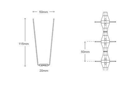bird-spikes-narrow-p14-diagram