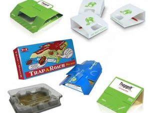 Sticky Pads Insect Monitors and Detectors