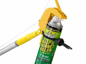 Lever operated Sprayer pro for use with painters pole - Owl pest control Dublin