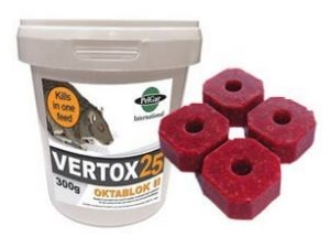 Vertox 25 - Owl pest control Dublin