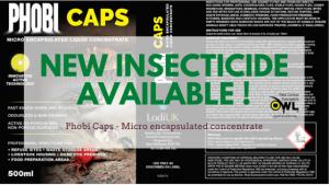 Phobi Caps New Professional Insecticide Registered Owl Pest Control Ireland