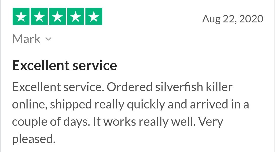 trustpilot-review-silverfish-gluetraps-monitors-killer-owl-pest-control-ireland